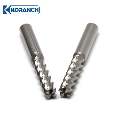 鋁(lv)用(yong)平底銑刀4刃(ren)